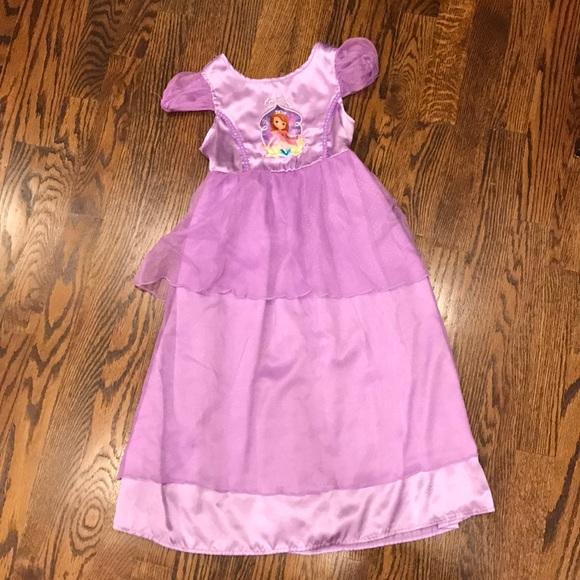 f0d63f51df Disney Other - Sofia the First Pajama Princess Nightgown Sz 4